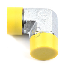90 degree ELBOW JIC MALE 74 degree CONE NPT Excellent hose connector hydraulic adapter