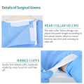 SMS Fabric Reinforced Surgical Gown