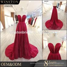 Patrones populares de la venta para los vestidos de noche del satén