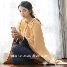 Alta qualidade à venda Mais Popular Fleece Blanket Poncho