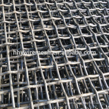 tela de malha de vibração resistente à abrasão 65Mn da malha da tela do aço carbono da exportação
