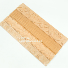 Мебельная отделка кромки резной деревянной лепниной