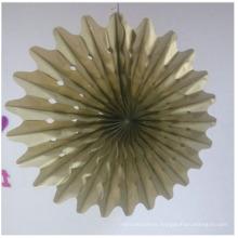 Artisanat de papier d'aluminium de fabricant pour la décoration à la maison