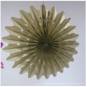 Ofícios de papel da folha de ouro do fabricante para a decoração home