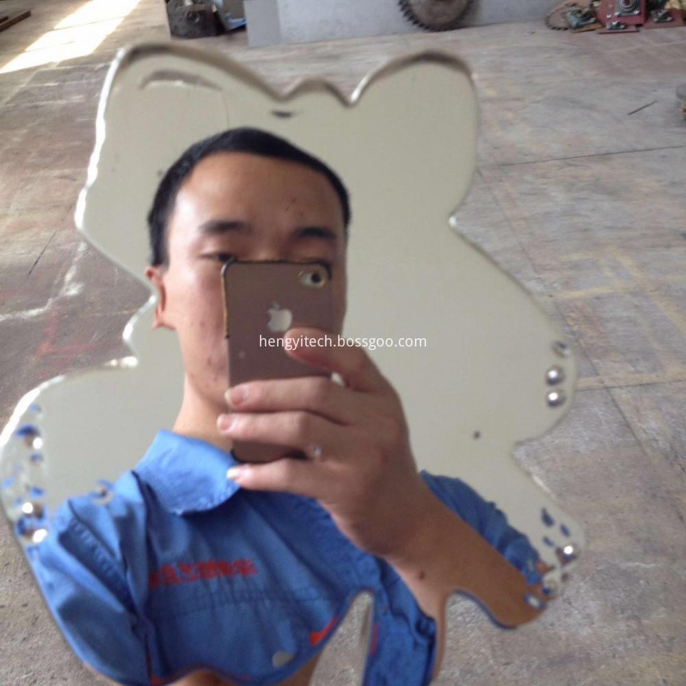 spray chrome mirror