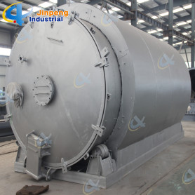 Pyrolysis of Plastic Smoke Scrubbers Rubber to Energy