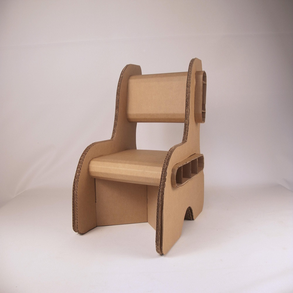 Cardboard Chair Template