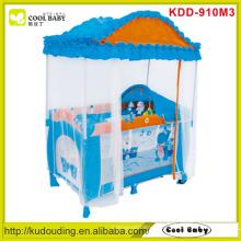 Fabrik Großhandel Baby Playpens mit Deluxe High-Dach Moskitonetz