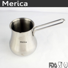 Stainless Steel Latte Art Milk Frothing Pitcher with Long Handle