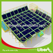 Galvanized super jumping used commercial rectangle mini trampoline for sale LE.BC.055                                                     Quality Assured