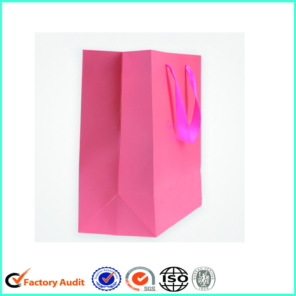 Custom Print Paper Bags With Small Logo