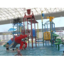 Indoor Kids Water Playground Equipment , Aquasplash Water P