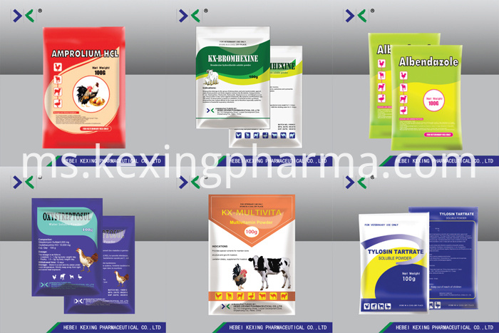 Enrofloxacin 20% Water Soluble Sowder