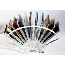 High Clear Acrylic CD Display Rack