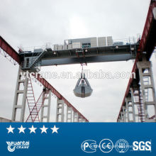 waste plant double girder crane
