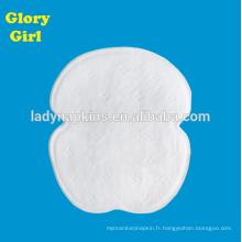 AP10 2.1g Tampons anti-transpiration non tissés pour les aisselles