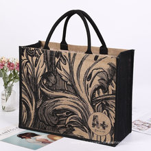 Factory Sale Customized Promotional Reusable Eco Friendly Manufacturers Shopping Jute Tote Bag
