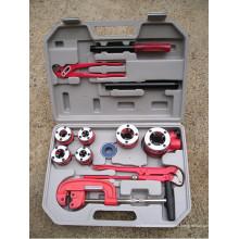 """HLG-K Catraca kit de rosqueamento tubo / catraca kit de rosqueamento 1/4 """"a 1 1/4"""""""