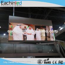 Affichage à LED visuel visuel d'intérieur P4.8 500x1000mm de mur polychrome de HD LED