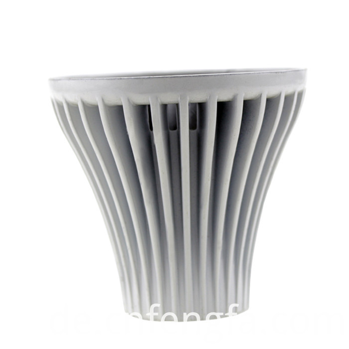Hot selling aluminum alloy white lamp housing
