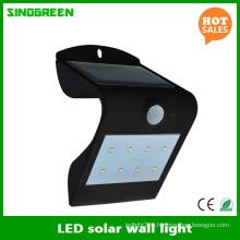 Lampe de mur solaire à DEL LED Smart Solar & Sensor LED Wall Light RoHS Ce