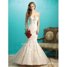 Платья 2016 Популярных Русалка Свадебные Спинки Кружева Свадебное Платье