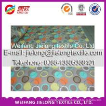 Tejido 100% algodón varios de tejido de poliéster de impresión de especificación