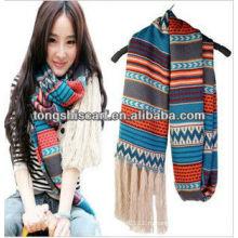 Мода 2013 вязаный шарф