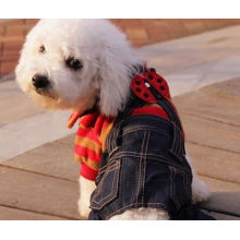 100% Polyester Dog Jumpsuits Personalized Dog Winter Warm Clothes / Puppy Apparel