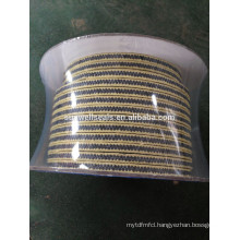 Graphited PTFE Packing with Aramid Corner