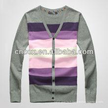 12STC0563 tricot chandail tricoté cardigan pour hommes