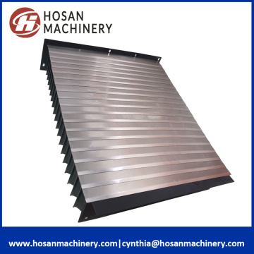 Customed Steel قابل للسحب دليل Accordion Shield