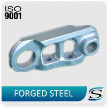 Corrente da trilha das peças da máquina escavadora da certificação ISO9001 para o conjunto da ligação da trilha