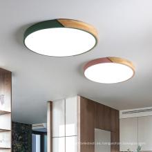 ventilador de techo de bajo perfil con luz led de 30w