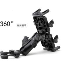 Bike Bicycle Motorcycle Car Universal Phone Holder With Secure Grip 360 Adjustable Ball Head Ram Mount