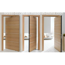 Fancy Interior Veneer Wooden Flush Door System