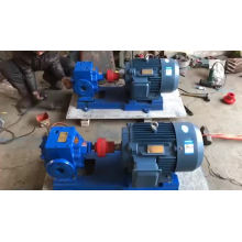 High temperature jacket insulation pump asphalt gear pump