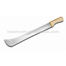 20 '' mango de madera cuchillo Matchet