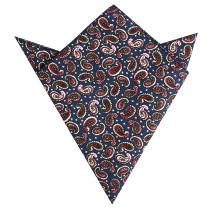 Men 100% Cotton Wholesale Machine Rolled Custom Printed Handkerchiefs