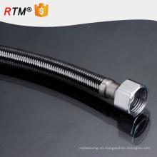 Manguera trenzada flexible del alambre de metal de la manguera de goma del acero inoxidable B17