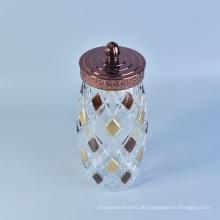 10 Gallonen Großhandel Amber Glas mit Löffel