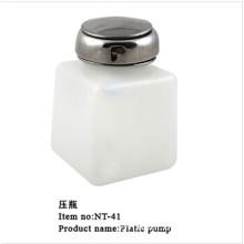 Nt-41 Empty Plastic Nail Liquid Dispenser Stainless Steel Pump