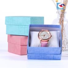 Крафт-бумага коричневый квадрат картона бумага часы Упаковка ювелирные изделия бумажные коробки оптом поставщики