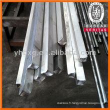 Barres de carré en acier inoxydable