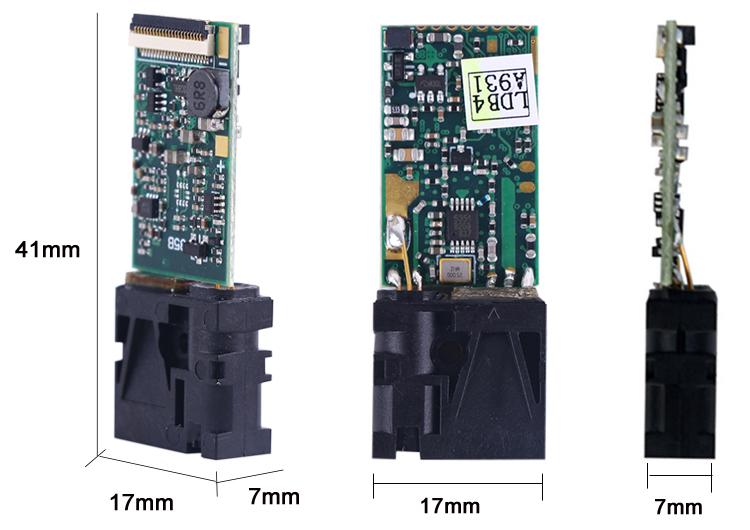 U85 Distance Sensor Size