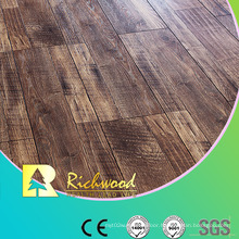 Commercial E0 HDF AC3 Embossed Oak V-Grooved Laminate Flooring