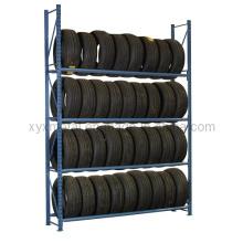 Armazém Auto Tire Racking 4s Store Rack de pneu de feixe seletivo