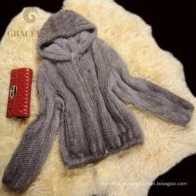 Высокое качество меха пальто продажи