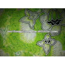 good design spun rayon printed fabric in stock