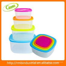 8pcs recipiente plástico de almacenamiento de alimentos (RMB)